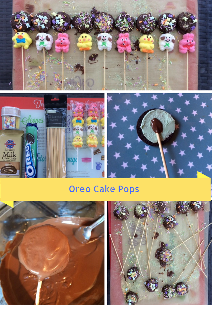 How to make Oreo Pops Pintrest picture