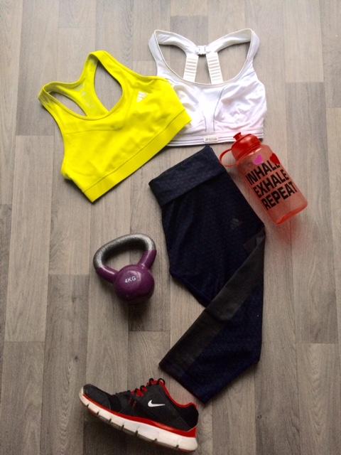 DW Sport running workout clothes