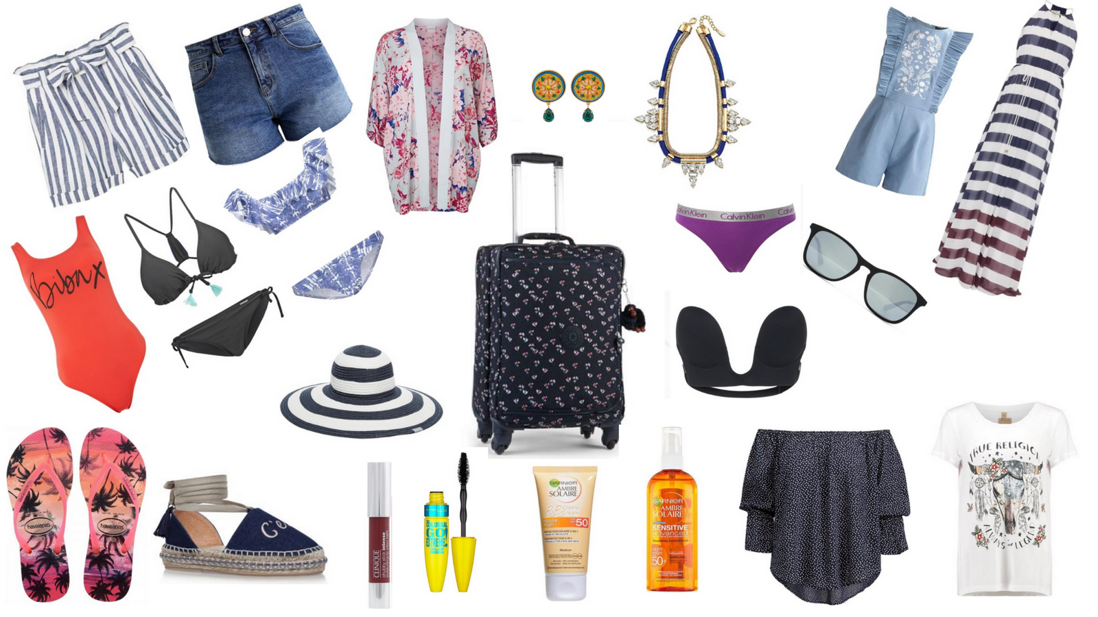 WHAT TO PACK : HAND LUGGAGE ONLY