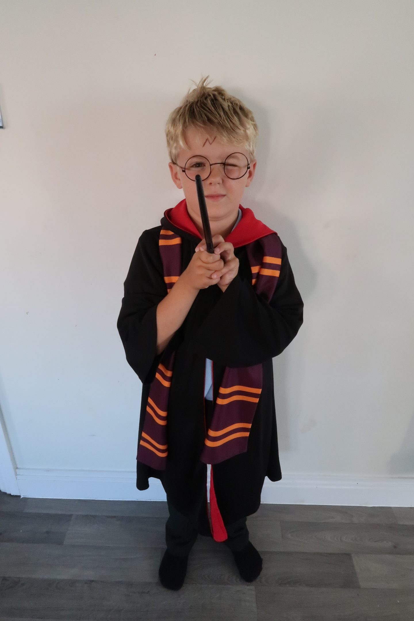 Harry as Harry Potter