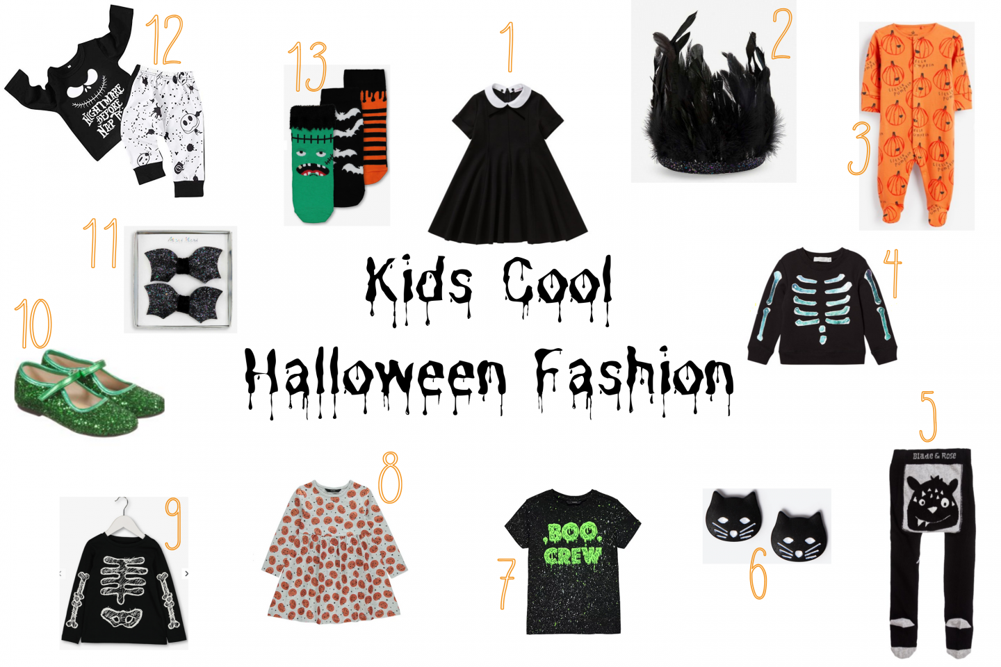 Kids Cool Halloween Fashion