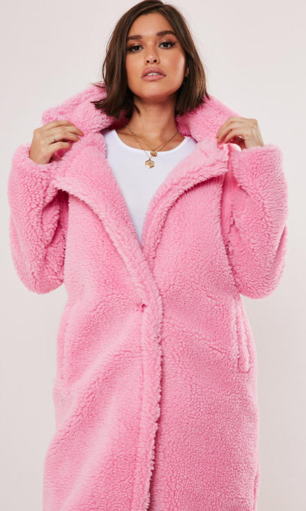 Teddy Coat From MissGuided