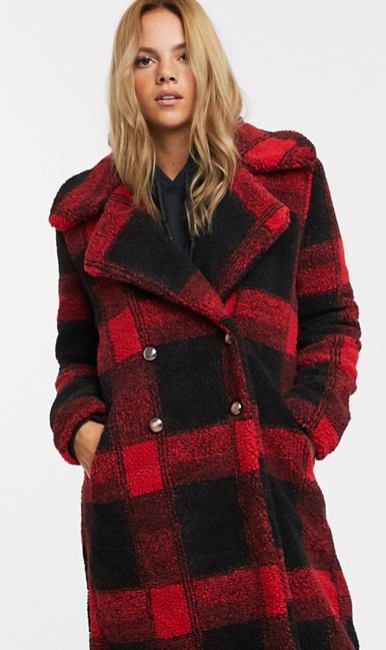 Teddy Coat From QED London