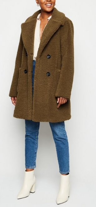 Teddy Coat From New Look