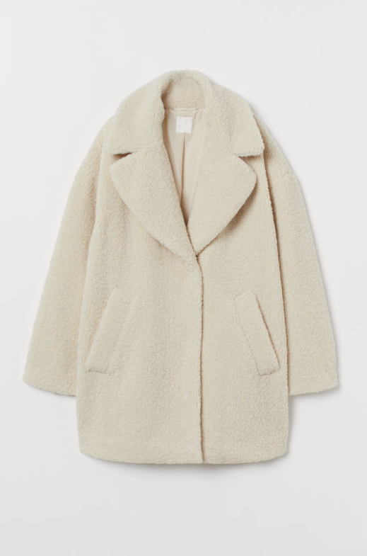 Teddy Coat From HM