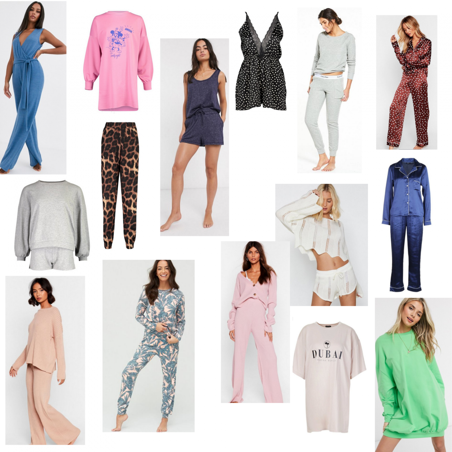 Stay at home loungewear
